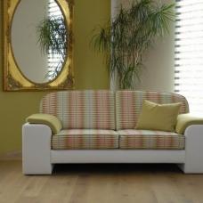 individuelles Sofa mit losen Sitz-und Rückenkissen