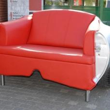 Spezialanfertigung für Opel GT-Fans: Echtes GT-Heck als 2er-Sofa